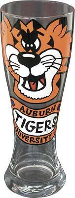 Auburn TIGERS Hand Painted Pilsner Beer Glass 22oz New in Box