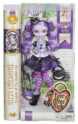 Ever After High Kitty Cheshire Doll New Free Shipping