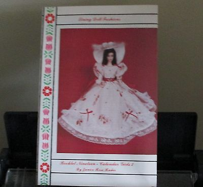 Doll Clothing Patterns Fit Barbie Calendar Girls W/Bed Doll Pattern  Book # 19