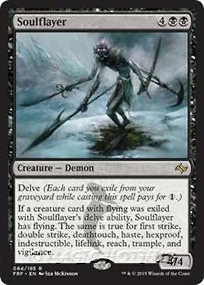 SOULFLAYER Fate Reforged MTG Black Creature — Demon Rare