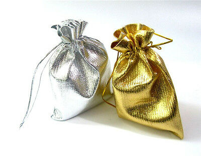 New! 50pcs Drawstring Organza Gift Bags Wedding Party Favour Bag Candy Pouch