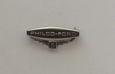 Vintage Philco Ford 5 Year Service Pin 1/10 10k Gold Filled