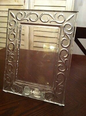 Marquis Waterford 4x6 Arabesque Crystal Picture Frame