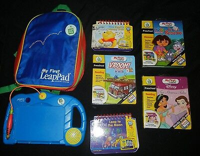 LeapFrog My First LeapPad with Carry Case and 5 books & Cartridges