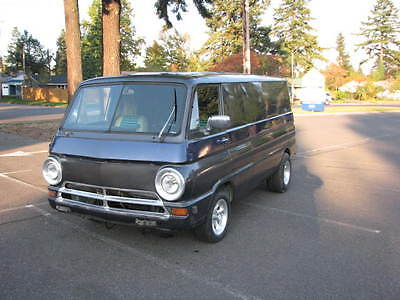 Dodge : Other Tradesman 1969 dodge a 108 van panel project chrysler 400 727 trans and 8 3 4 posi rear