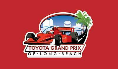 TOYOTA GRAND PRIX OF LONG BEACH TWO (2)TICKETS- Date: Friday 4/17/2015 at 7:00am