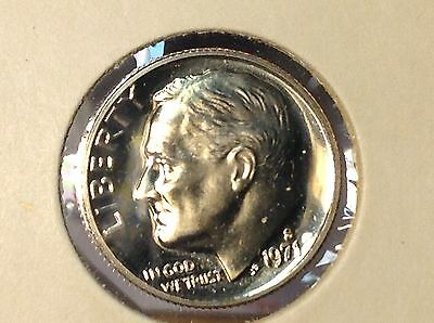 1971-S Proof ROOSEVELT DIME. From US Proof Set