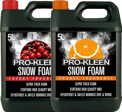 Snow Foam Car Snowfoam With Wax Wash Shampoo Cleaner Valet Cleaning