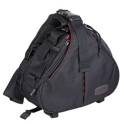 Caden casual DSLR Camera Bag Messenger Shoulder Bag For Nikon Sony Canon black