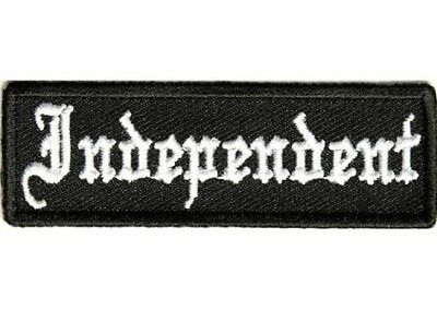 LOT OF 5 - INDEPENDENT BIKER PATCH