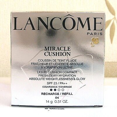 Lancome Miracle Cushion Compact Refill - 14g - Beige Miel - 04 - Boxed