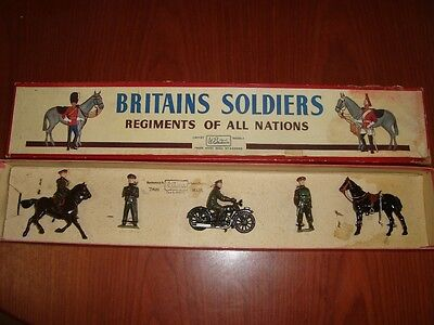 Britains British Army Staff Officers (active service) set No 1907 in ROAN box