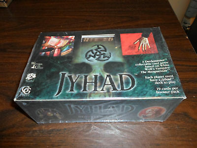 JYHAD Unopened Factory Sealed Booster Box 36 Packs 19 Cards Per Pack