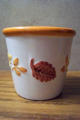 Votive Holder for Yankee Candle Samplers --- FALL LEAVES