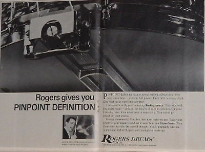 1967 Louis Bellson+Rogers gives pinpoint defintion Ad