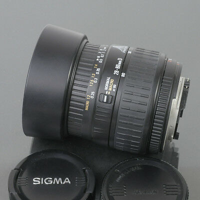 Sigma 28-80mm f/3.5-5.6 II D aspherical macro lens for Nikon