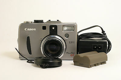 Canon PowerShot G1 3.3MP 3x Optical Zoom Digital Camera 243925