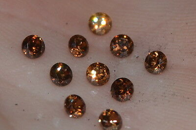 ***Flawless***3mm IF Brilliant Cut Simulated Chocolate Diamond