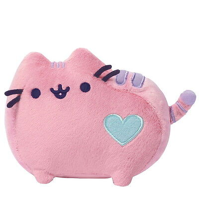 "NEW OFFICIAL GUND Pusheen The Cat Pastel Pink 5"" Small Plush Soft Toy 4048873"