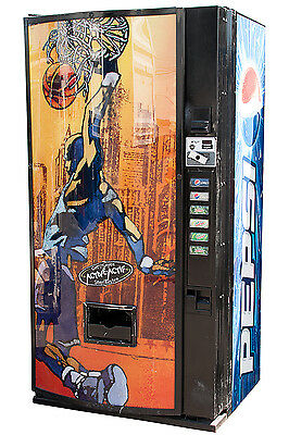 DIXIE NARCO 522 Get Active Multi Price Soda Can Beverage Vending Machine