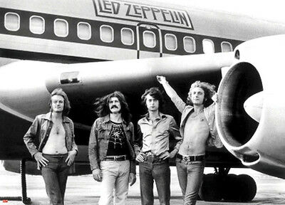 "LED ZEPPELIN ""PLANE"" Subway Poster 40"" X 55"" Poster NEW in Package"