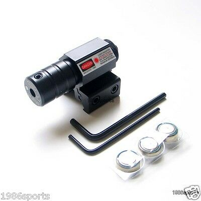 650nm Red Dot Sight Laser Rail 20mm /off switch fit for /scope/pistol/Cow #.21