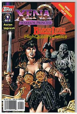 XENA  WARRIOR PRINCESS Blood #1, NM+, Lucy Lawless, 1998, more Xena in store