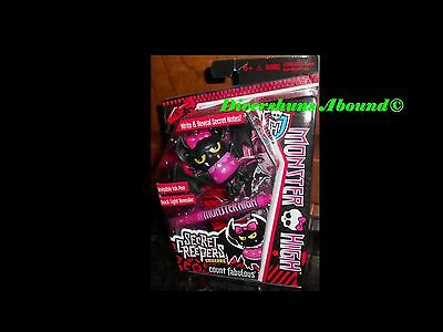 Monster High Secret Creepers Critters Count Fabulous Figure Draculaura's Pet!