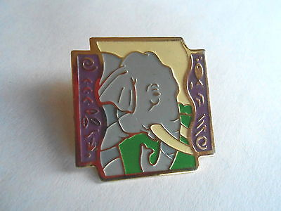 Cool Vintage 1992 Elephant with Tusks Pin Pinback