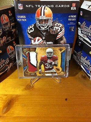 Stepfan Taylor Topps triple threads 3 color patch 10/10 last one stamped 1/1