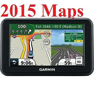 """new Garmin 50LM 5"""" SCN with 2015 US, (Canada, Mexico) & Puerto Rico Maps"""