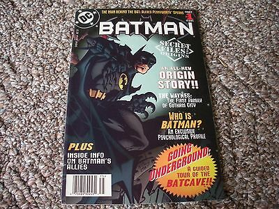 Batman Secret Files & Origins Issue #1 (1997) DC Comics VF/NM