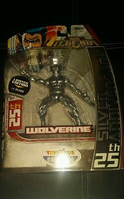 WOLVERINE SILVER 25TH ANNIVERSARY MARVEL LEGENDS LOTS LISTED COMBINE 1/25,000