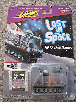 RARE Vintage Lost in Space Classic THE CHARIOT Film Clip #3 Johnny Lightning MOC