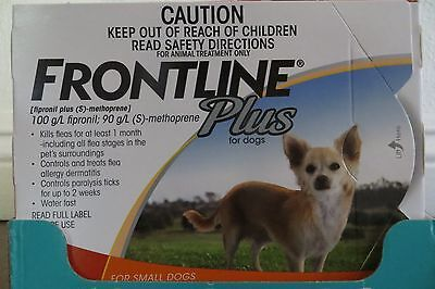 Frontline Plus For Dog 0-22 lbs 3 MONTHS Supply Small GUARANTEE Free Shippping