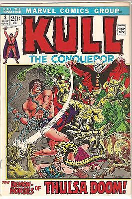 Marvel Comics Group KULL THE CONQUEROR #3 July 1972