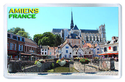 Amiens France Fridge Magnet Souvenir Iman Nevera