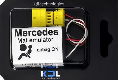 Bypass Seat Occupancy Sensor Emulator For Mercedes CLK W208 C W202 SRS