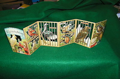antique bird cage panorama....A VISIT TO THE AVIARY....early1900s