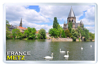 Metz France Mod2 Fridge Magnet Souvenir Iman Nevera