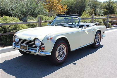 Triumph : Other . 68 tr 250 cal black plates incredibly honest and original