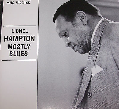 Lionel Hampton Mostly Blues Jazz CD Take the A Train Honeysuckle Rose Limehouse