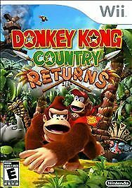 Donkey Kong Country Returns  (Wii, 2010) Free Shipping Tested