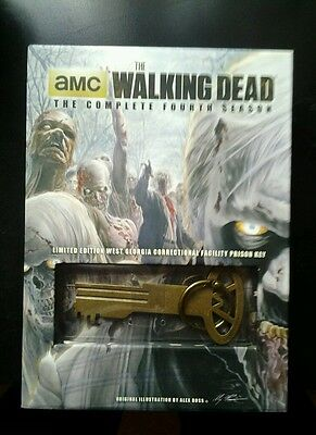 The walking dead : the complete fourth season limited edition with prison key