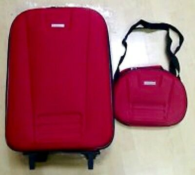 "Global Tour 20"" Upright 2 piece set Suitcase & Duffle Bag  - BRAND NEW"