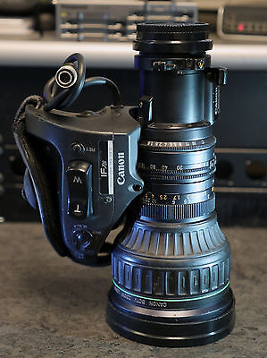 Canon J21ax7.8B4 IAS SX12 Broadcast Lens with 2x Extender, Sony B4 2/3 Mount
