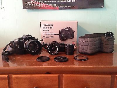 Panasonic GH2 + lenses, adapters, acc - Canon FD 50mm f/1.4, Canon FD 28mm f/2.8