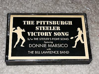 THE PITTSBURGH STEELER VICTORY SONG / THE STEELERS FIGHT SONG rare cassette 1995