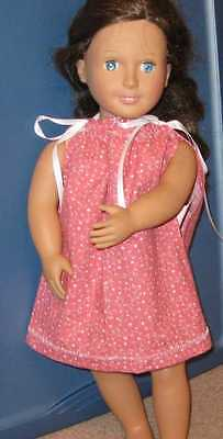 """18"""" DOLL CLOTHES 4 AMERICAN GIRL--HANDMADE DRESS, SHOES & SOCKS-CHILD 4 to10-312"""
