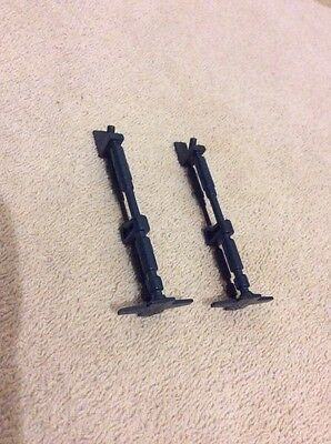 Vintage Star Wars Pair Of Millenium Falcon Blue Ramp Struts 100% Original VGC